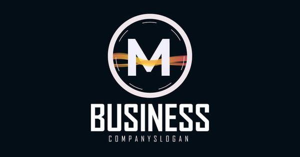 حرف حرف M شعار تصميم شعار لعلامة تجارية للشركة Logotype Design Types Of Lettering S Logo Design