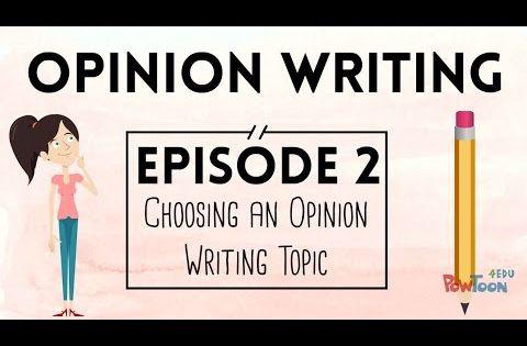 Choosing an essay topic