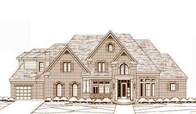Traditional House Plan 5 Bedrooms 4 Bath 5000 Sq Ft Plan 19 1596 Monster House Plans House Plans Luxury House Plans