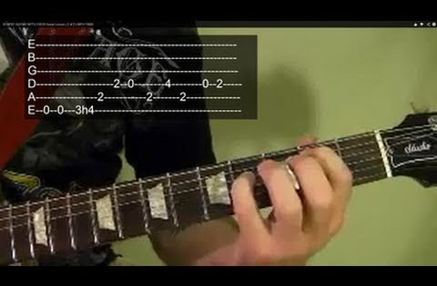 50 Famous Guitar Riffs Tab by Guitarists - Guitar ...