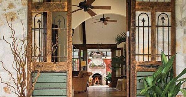 Love These Doors Barn And Sliding Doors Pinterest