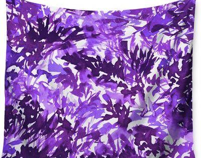 Kess InHouse EBI Emporium Marble Idea-Lavender Pink King Featherweight Sham