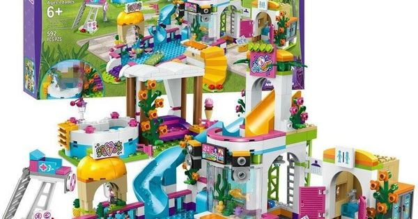 Chance Description For Legoinglys New Heartlake Girls Club Summer Pool Fit Legoing Friends City Mode Chance Descript In 2020 Diy Toys Gifts Toys Gift Bricks Diy