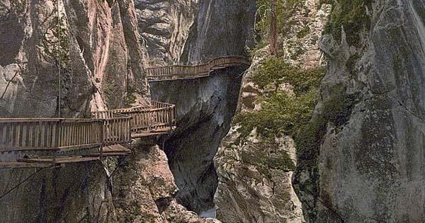 Zermatt, Upper Gorner Gorge, Valais, Alps of, Switzerland - WOW