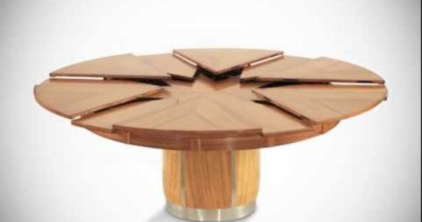 the fletcher capstan table expands automatically from