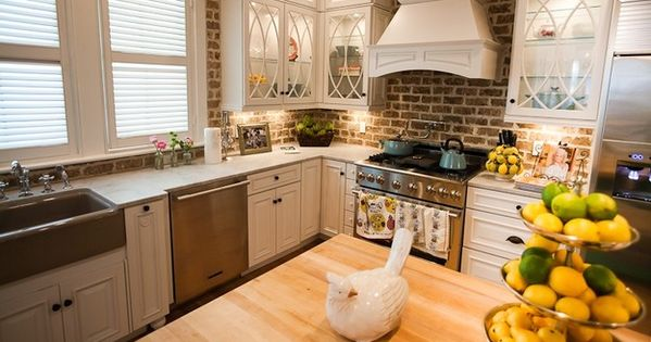 kitchen cabinet canberra kitchen brick backsplashes for warm and inviting cooking 2390