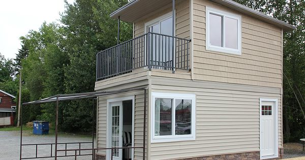 Skip the trailer 13 tiny houses built on foundations for How much does composite decking weigh