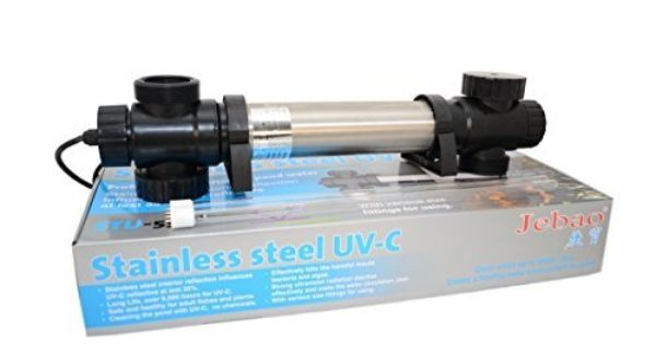 Jebao Stu Stainless Steel Uvc Clarifier 55 Watt