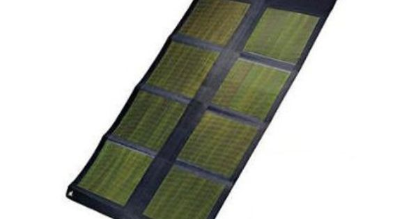 26 Watts Of Power More Than Enough To Charge A Laptop Or Digital Video Camera Or Power A Satellite Or Cell Phone In Additio Solar Solar Cell Solar Technology