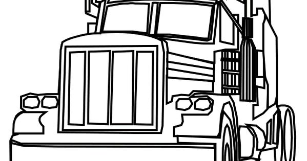 18 wheeler diesel coloring pictures of trucks  you can