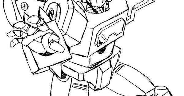transformers fighting coloring pages - photo#15