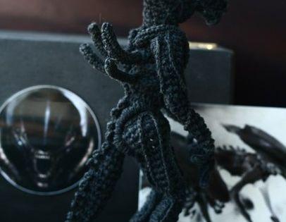 Crochet Alien No Pattern Crochet Geek Pinterest