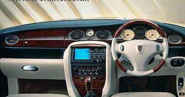 Rover 75 British Cars Car Console Car Interior Design
