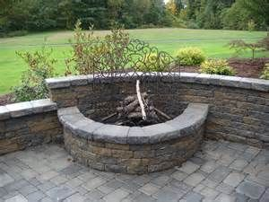 Half Circle Fire Pit Yahoo Search Results Outdoor Fire Pit Kits Outdoor Fire Pit Designs Outdoor Fire