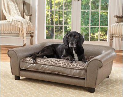 Archie Oscar Corina Dog Sofa Dog Cots Dog Bed Wood Dog