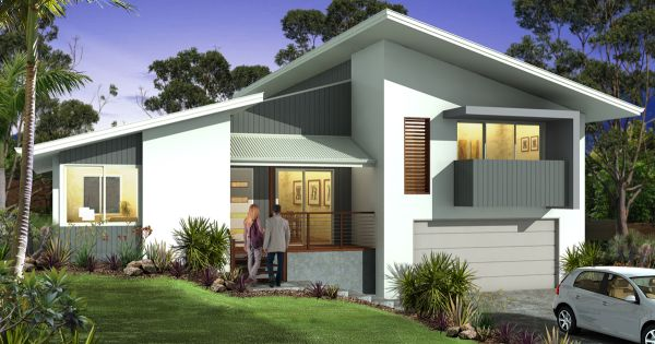 5 Top Tips To Build On A Sloping Block In Brisbane Split Level House Exterior Facade House Home Design Floor Plans