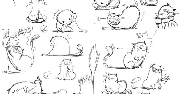 Learn how to draw cats