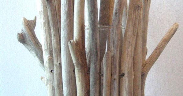 Vaseboisflottebis tuto bois flotte pinterest deco for Bois flotte vase