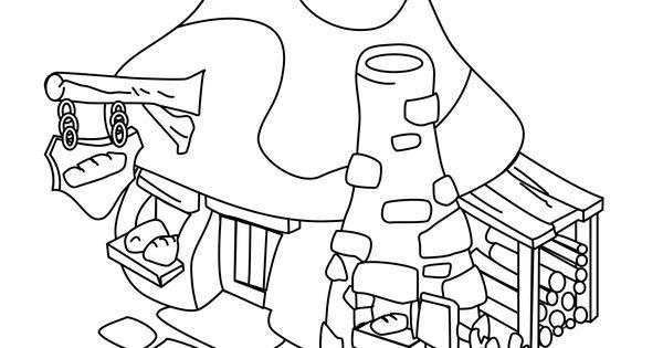 Tim Struppi 3 Gratis Malvorlage In Comic: Schlumpfhaus-3.gif (1654×1654)