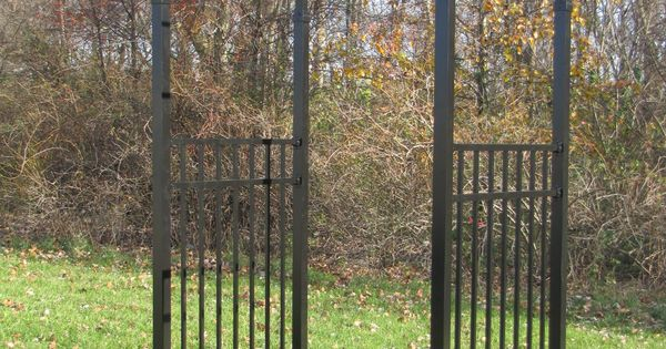 Azalea Arched Arbor In Black Things I Love Pinterest