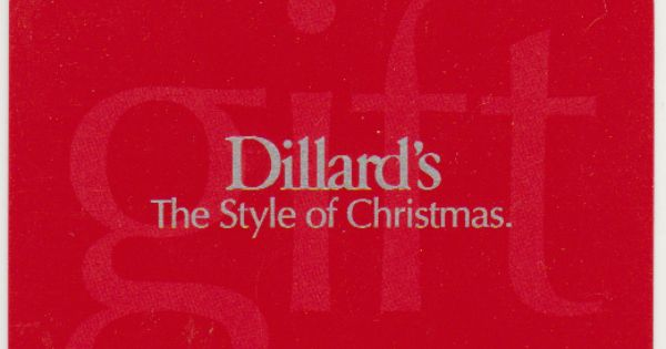 Dillard S The Style Of Your Life Everyday Gift Card 10 1 000 Can T Find The Right Gift The All Occasion Dillard S Gift C Dillards Gift Card Gift Card Balance