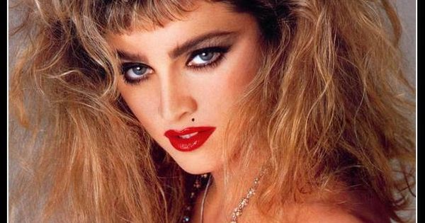 1980s Hairstyles Madonna Hair Styles Of A Period