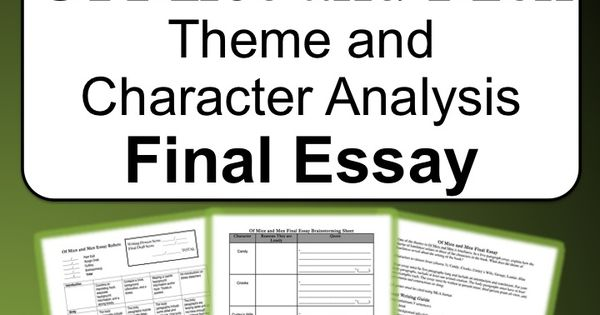 analysis of theme for english essay Clear instructions with outlines and sample essay forms for writing summary, analysis, and response essays.