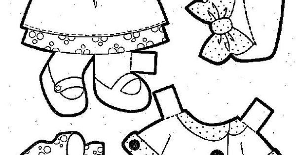 paper dolls coloring pages baby