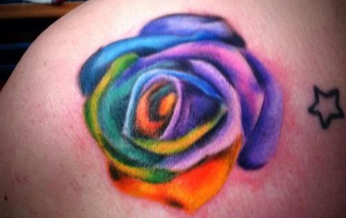 rainbow tattoo design - Google Search