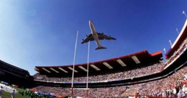 Rugby World Cup Final 1995 South African Airways South Afrika Johannesburg City