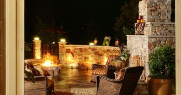 Back Porch Great House Ideas Pinterest Outdoor Entertainment Area And