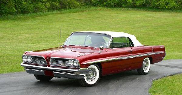 1961 Pontiac Bonneville Convertible Pontiac Bonneville Pontiac Classic Cars