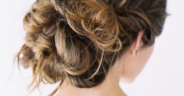 Wedding Hair Updos Natural Casual Wedding Hairstyles