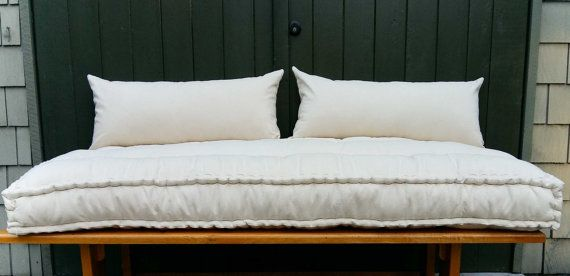 Custom Cushions French Mattress Quilting Hand Tufted Daybed