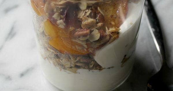 Cardamon Vanilla Nectarine Granola | Plate and Spoon | Pinterest ...