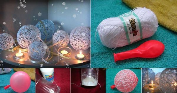 Christmas Yarn Balls
