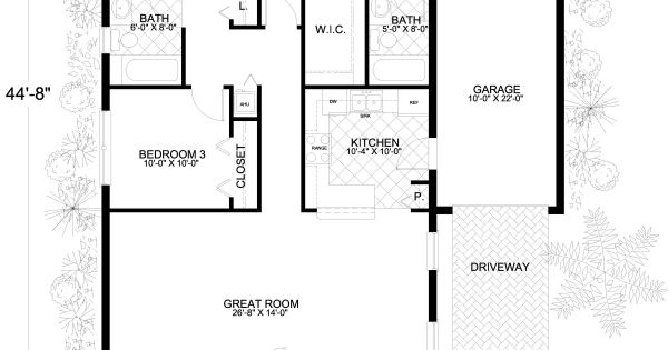 1250 sq ft house plans no garage google search floor for 1250 sq ft house plans