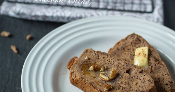 Paleo Banana Bread. Easiest and most delicious Banana Bread ever. Please repin