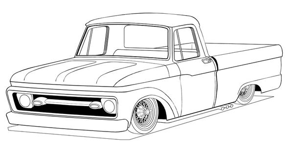 100768110387728664 furthermore Old Car In Front Of Capitol Building as well Tambi N La Versi N Adventure Locker Del together with Big Ford Trucks Coloring Pages Sketch Templates additionally 6867 How Pick Camshaft Efi 3. on lowered f100