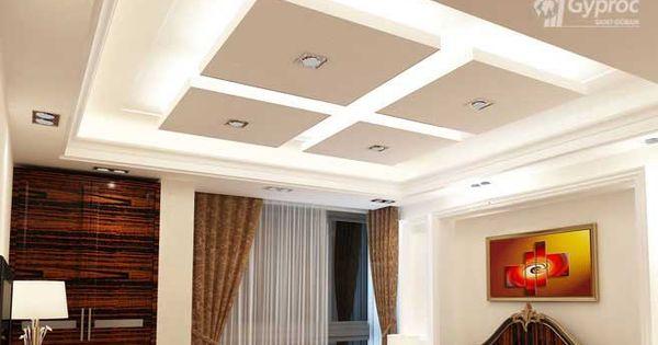 False ceiling drywall saint gobain gyproc india for Drywall designs living room