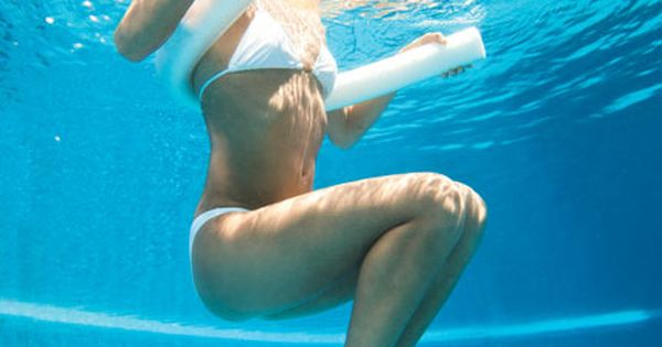 Shed pounds in the pool without swimming laps (or sweating buckets). Self