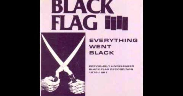Black Flag My Rules Ron Reyes Black Flag Vinyl Record Album Everything Goes