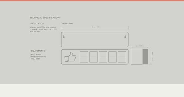 Fliike, by Smiirl Facebook fan counter WEB Pinterest - designer gerat smiirl facebook fans