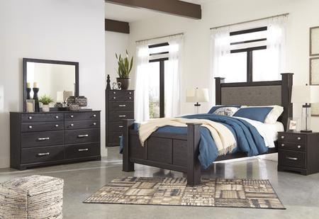 Signature Design By Ashley Reylow 5 Piece King Size Bedroom Set Bedroom Sets Rustic Bedroom Design Master Bedroom Design