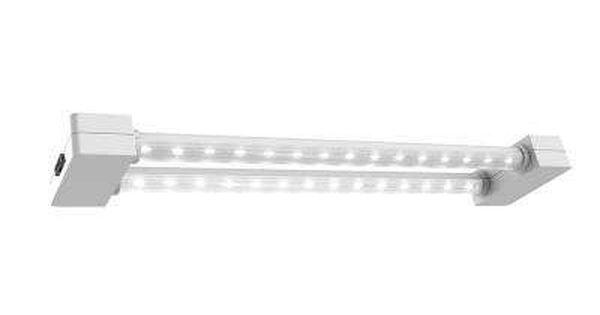 2 Ft 2 Light 19 Watt White Led Full Spectrum Linkable Grow Light