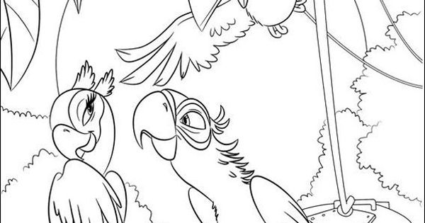 Angry birds rio coloring pages free 17 http for Angry birds rio coloring pages