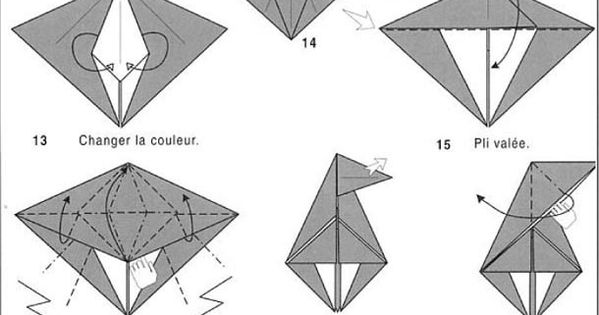 origami wolf 1 origami pinterest origami  wolf and