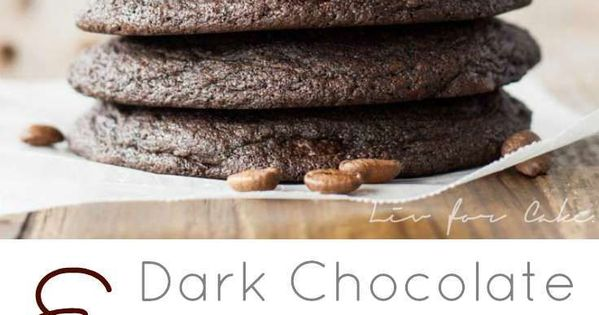 Dark Chocolate Espresso Cookies | Recipe | Powder, Cookies and ...