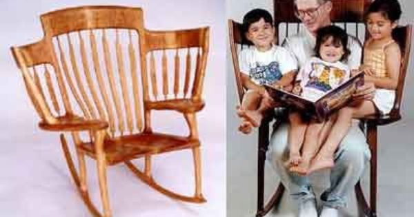 Story Time Rocking Chair too cute! Perfect for those future grandkids!