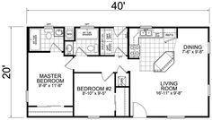 41++ 20 x 40 floor plans 2 bedroom ppdb 2021